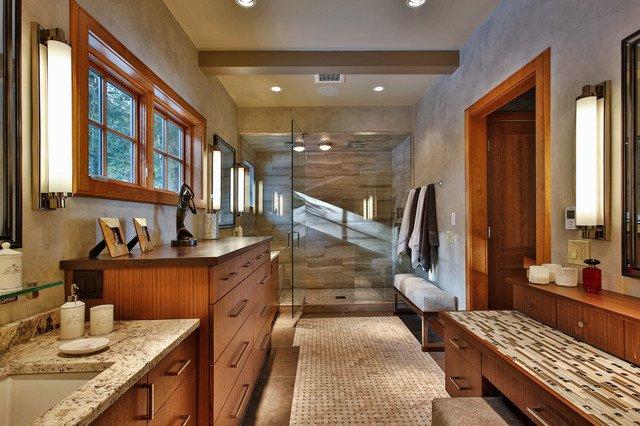 entretien sala de bain teck