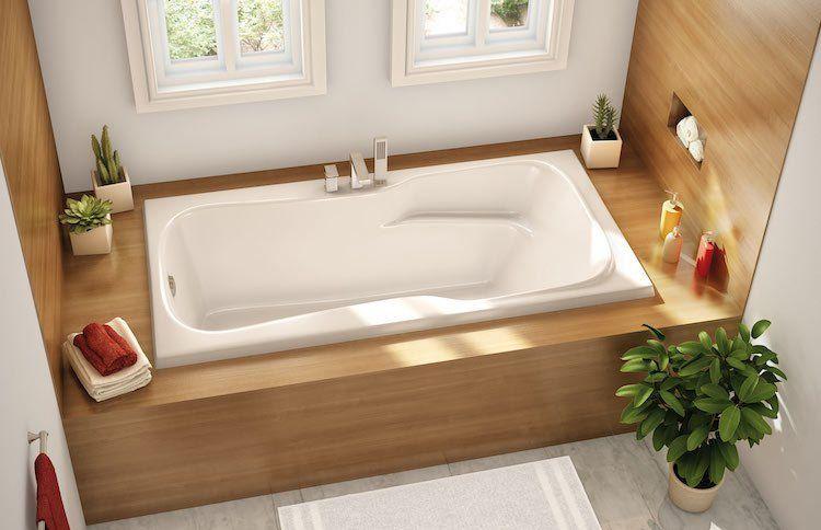 materiaux baignoire