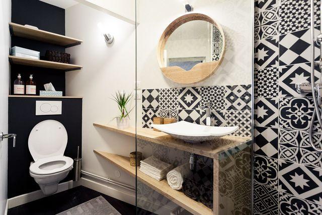 meuble rangement salle bain